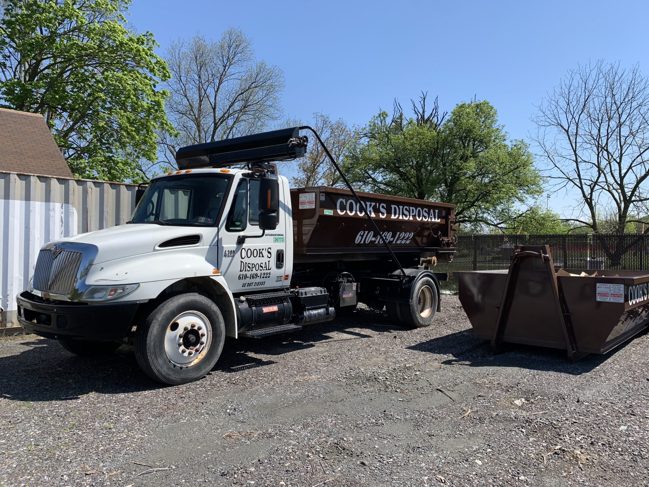 Dumpster Roll Off Container Rental in Pottstown PA