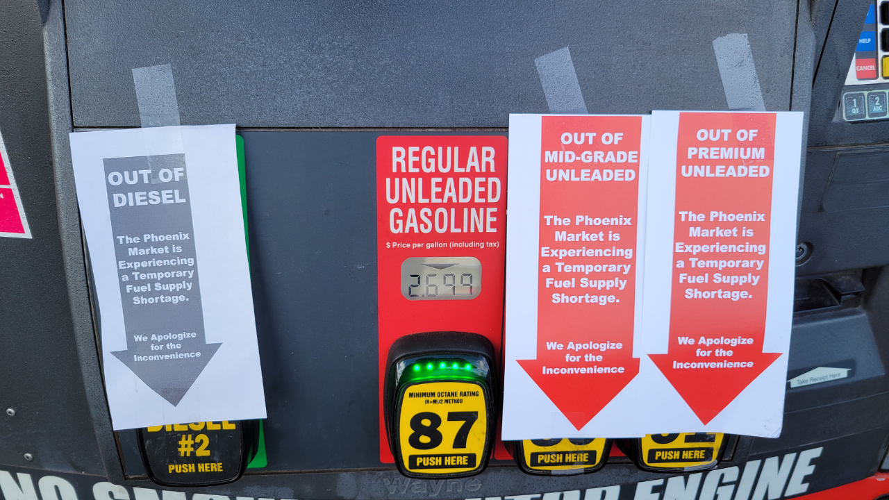 Should I worry about a Gas Shortage in Phoenixville PA?