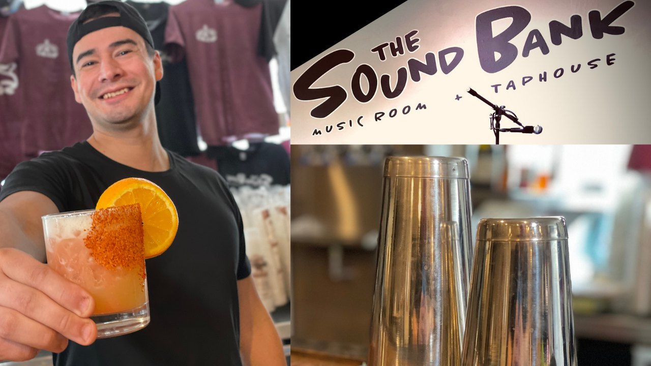 Sun Blind Full Interview at The Soundbank in Phoenixville PA