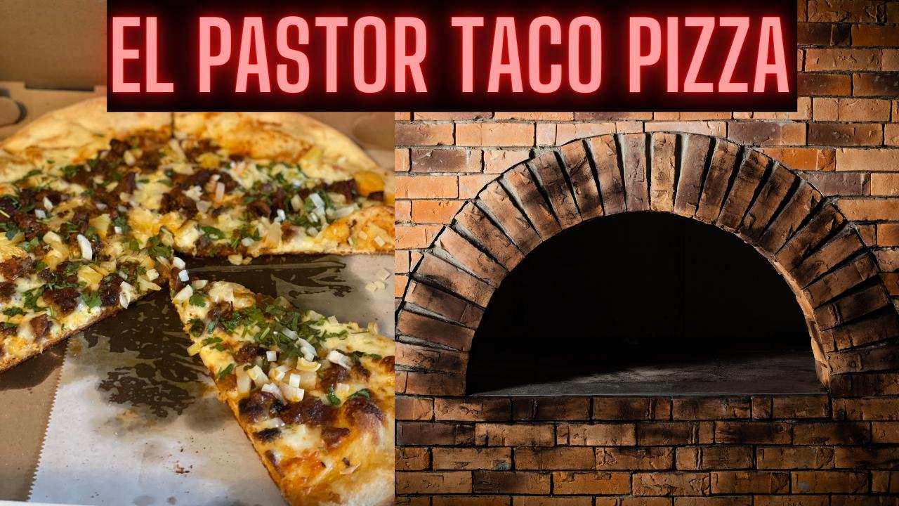 El Pastor Taco Pizza from Taco Pizza in Oaks PA