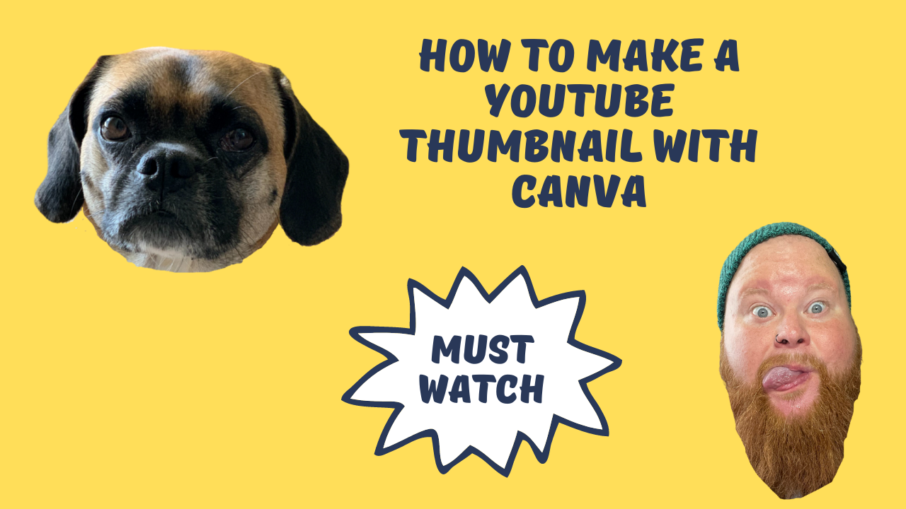 How to make a YouTube Thumbnail with Canva